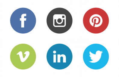 social-media-icons-the-circle-set